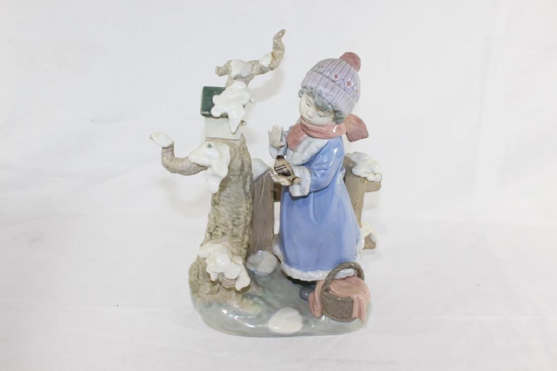 Lladro No. 5287 - Winter Frost Figurine - 2