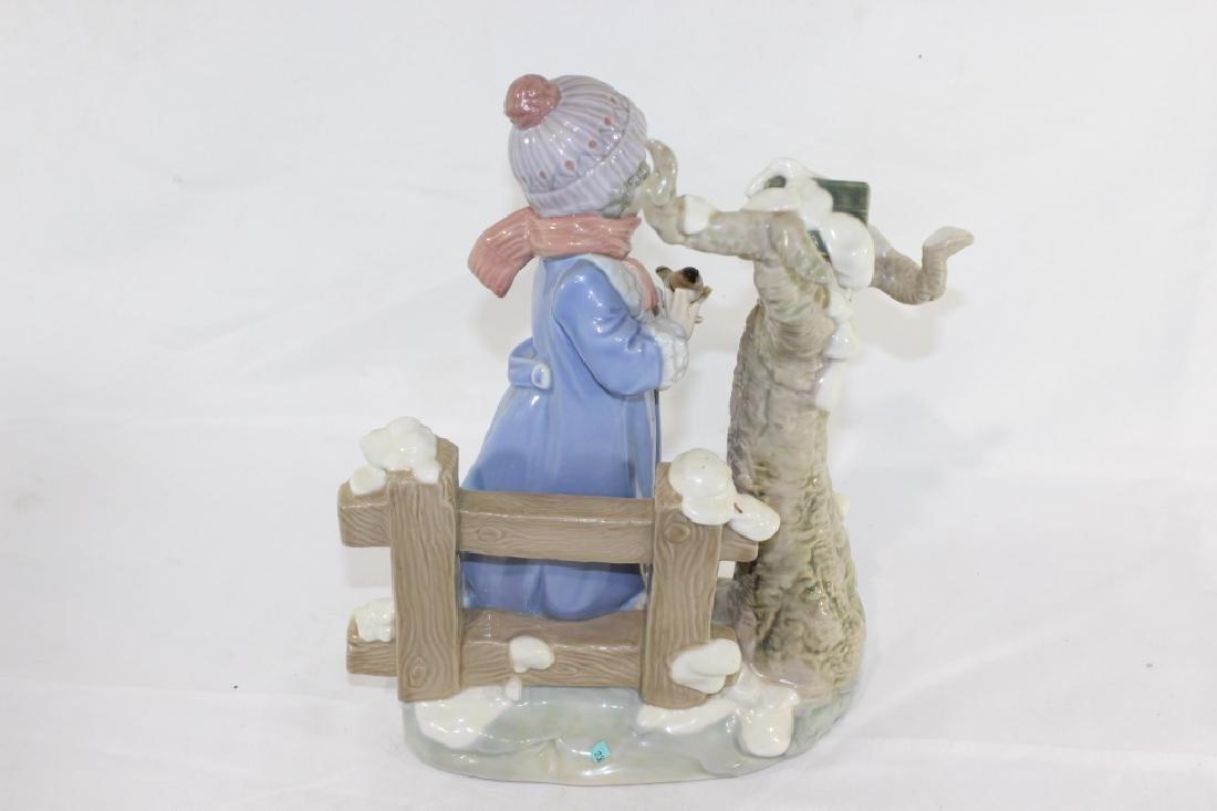 Lladro No. 5287 - Winter Frost Figurine - 3
