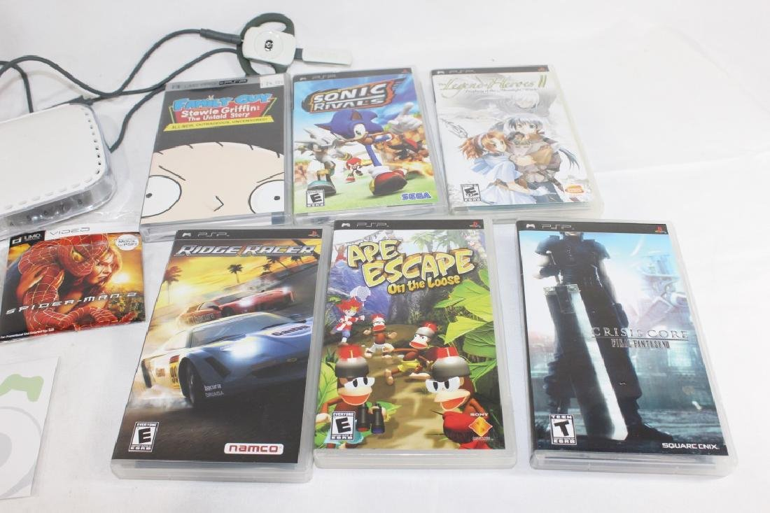 Sony PSP AS IS w/ Misc. Games - 3