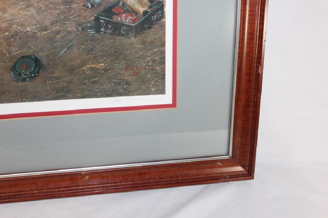 Signed Don Troiani Confederate Army Civil War Framed - 6