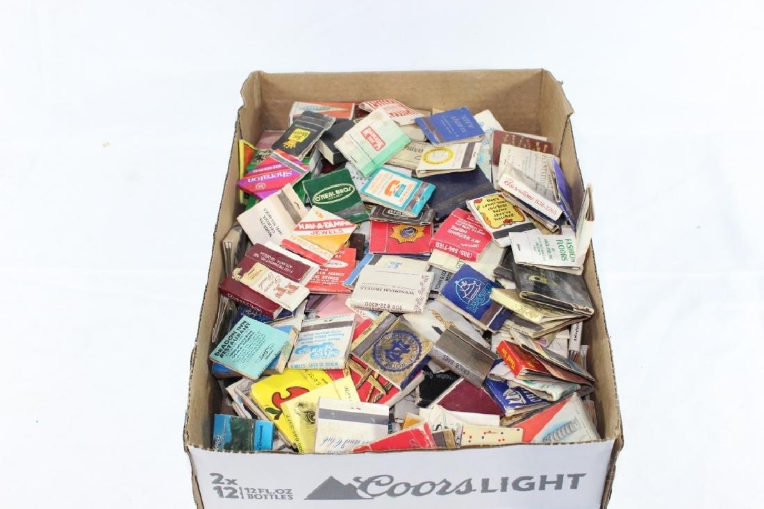 Large Lot of Vintage Matchbooks