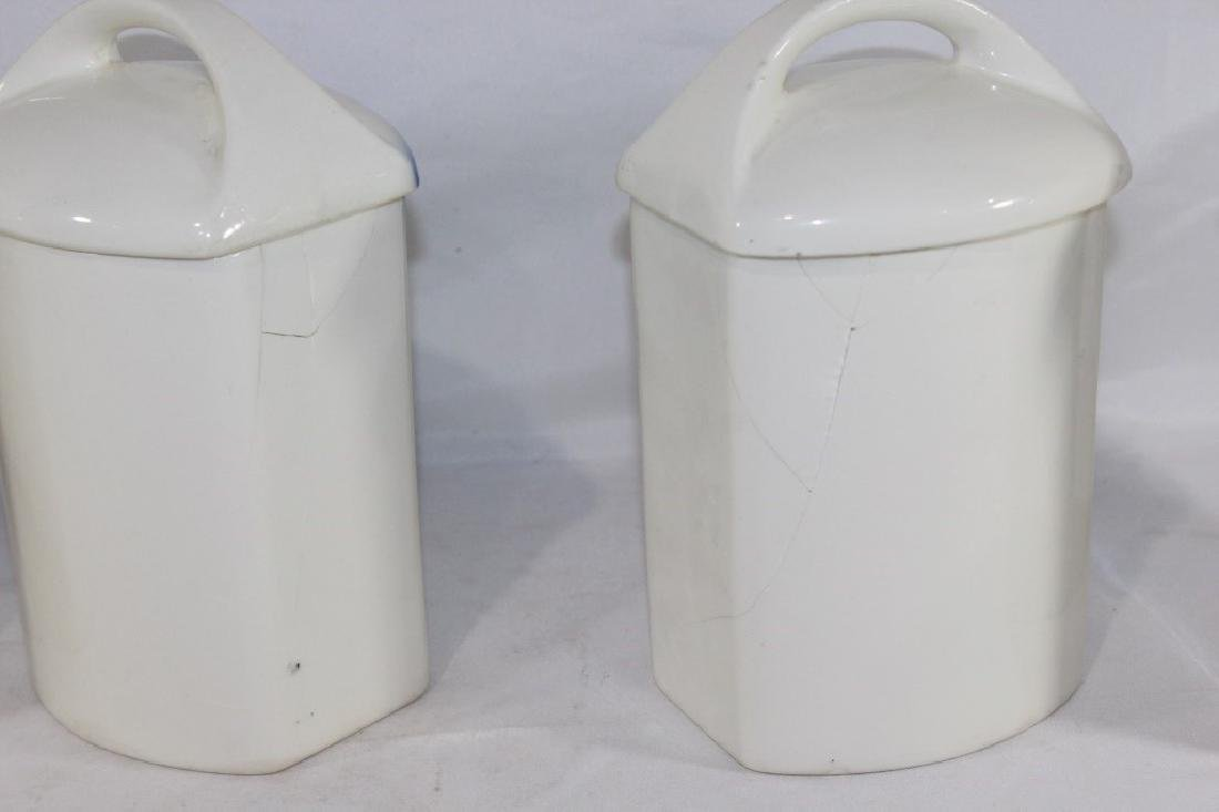 5 Ditmar Urbach Ceramic Canisters AS IS - 3