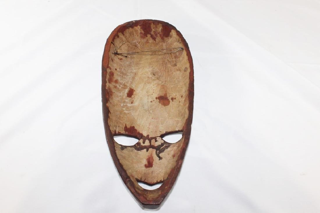 Hand carved African wood Mask - 2