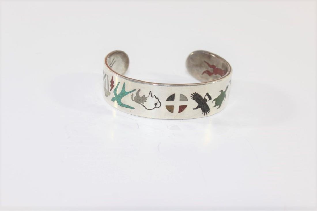 Sterling Bracelet - Lakota Nation Made