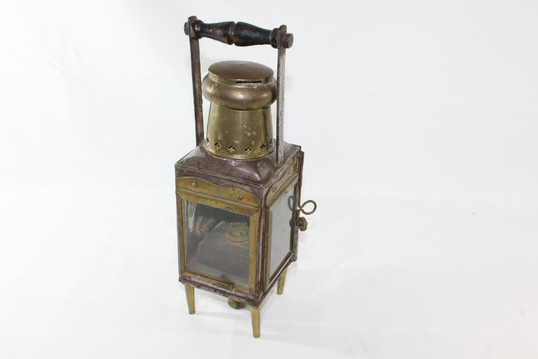 Antique Ships Lamp by Eli Griffiths