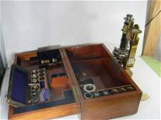 Antique R Fuess No. 392 Petrological Microscope
