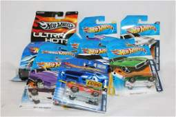 Large lot of Hot Wheel toy cars in package