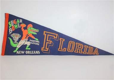 Vintage Fighting Gators Pennant New Orleans