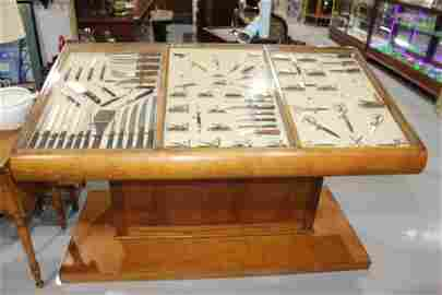 Antique Case XX Knives Store Display Cabinet