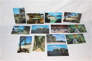 Vintage Hawaii Postcards - Napili Kai Club, Beach