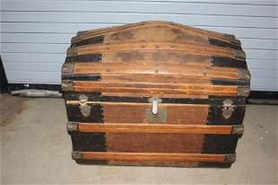 Antique Steamer Trunk - as is