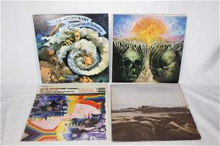Lot of Moody Blues Records / LPs / Vinyl