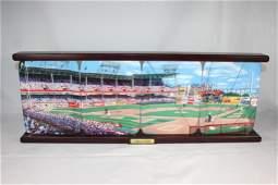 Ebbets Field - Dodgers Danbury Mint Plate Set -4