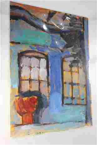 ORIGINAL PAINTING OIL ON CANVAS - UNSIGNED