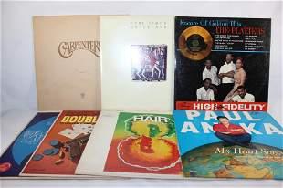 MISC. LOT OF 7 VINYL RECORDS
