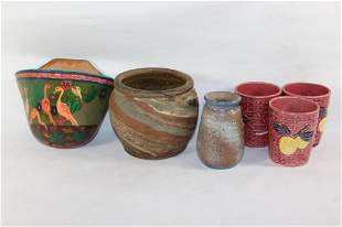 MISC. POTTERY AND CERAMIC LOT