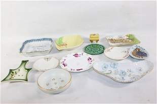 12 PC LOT OF SMALL TRINKET DISHES