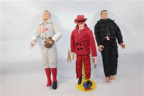 GI Joe? Doll / Cy Young Doll/ Dick Tracy Lot