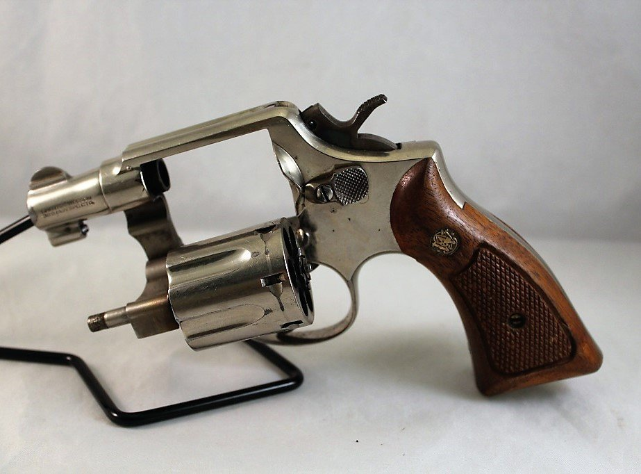 Smith & Wesson Model 10; 38