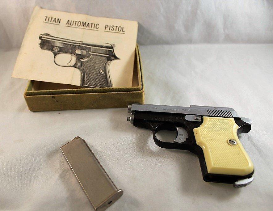 Titan 25 caliber semi-automatic