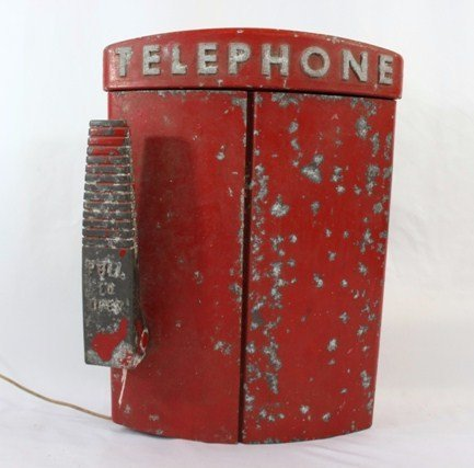 Vintage Western Electric Emergency  Fire Call Box - all