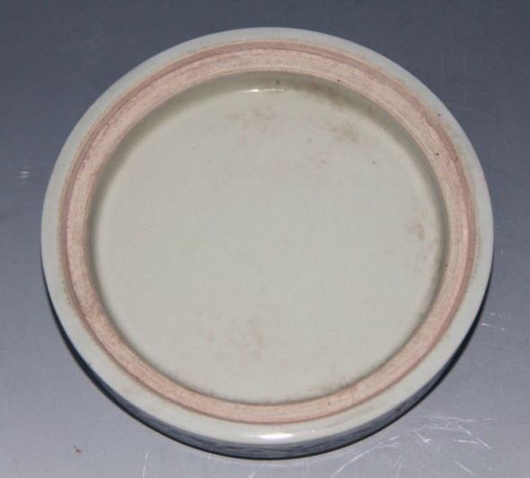 XUANDE MARK, A BLUE AND WHITE BOWL - 8