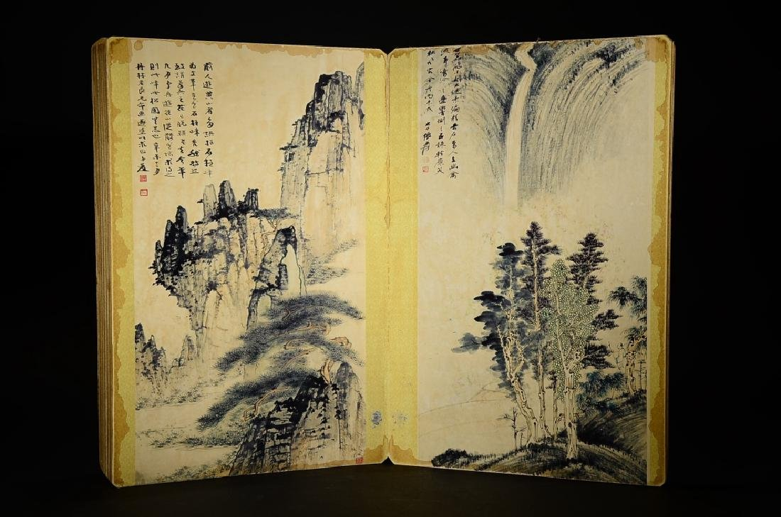 A BOOK OF ZHANG DA QIAN'S PAINTING