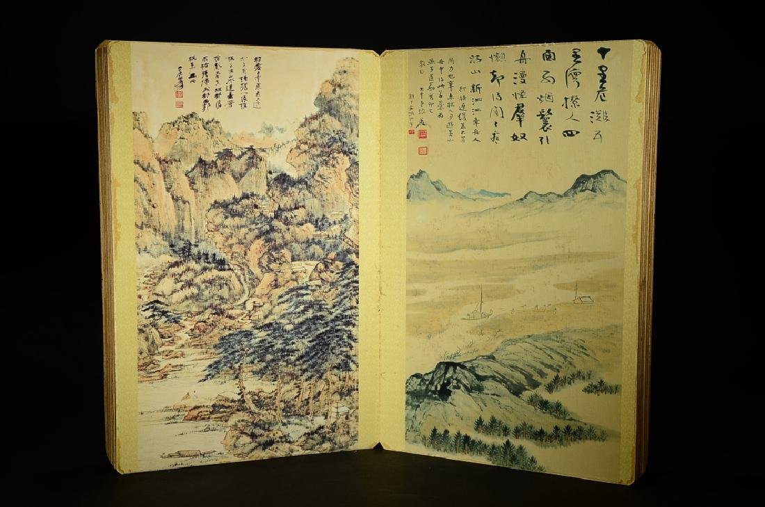 A BOOK OF ZHANG DA QIAN'S PAINTING - 2
