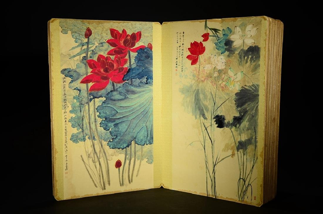 A BOOK OF ZHANG DA QIAN'S PAINTING - 3