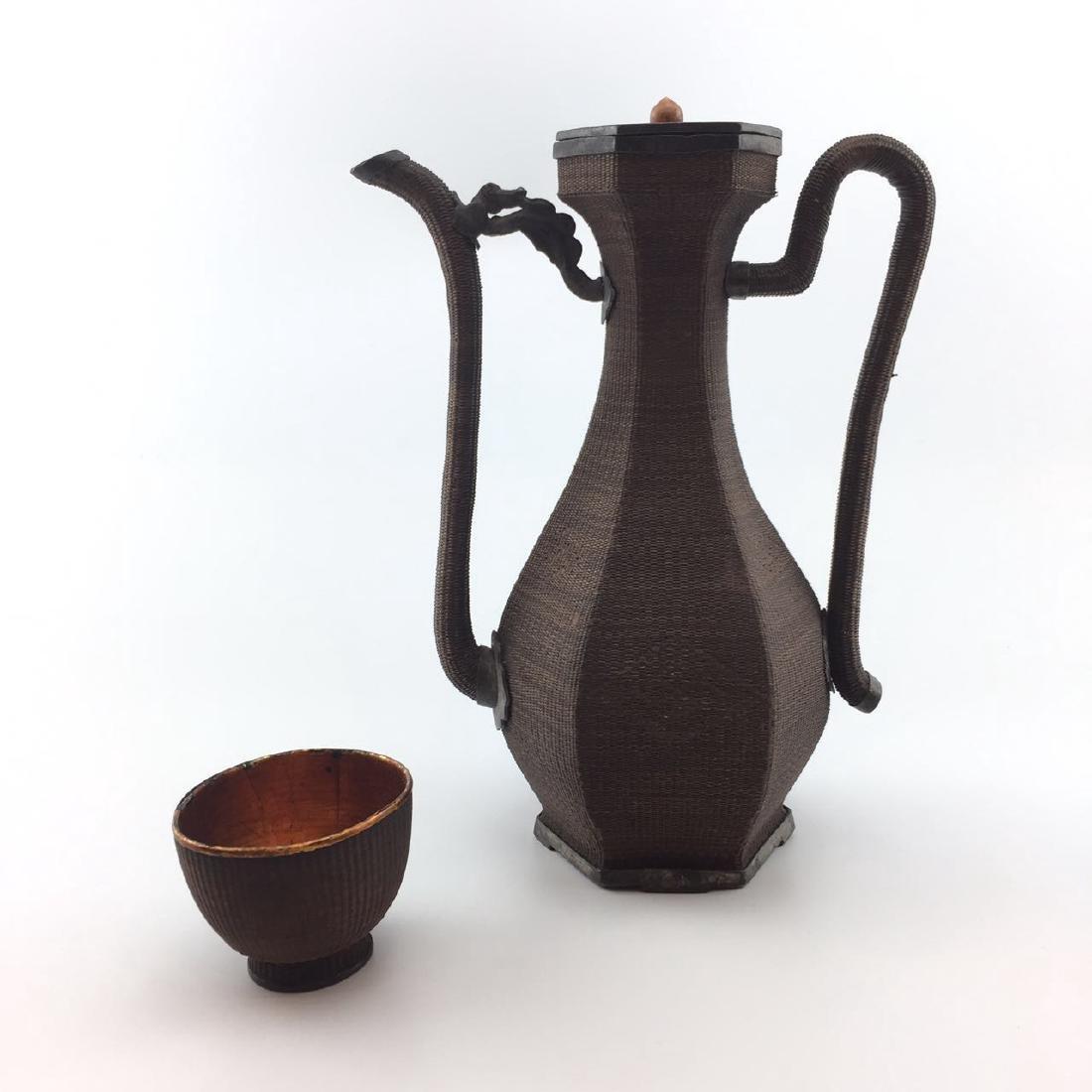 A Set of Silver Tea Sets