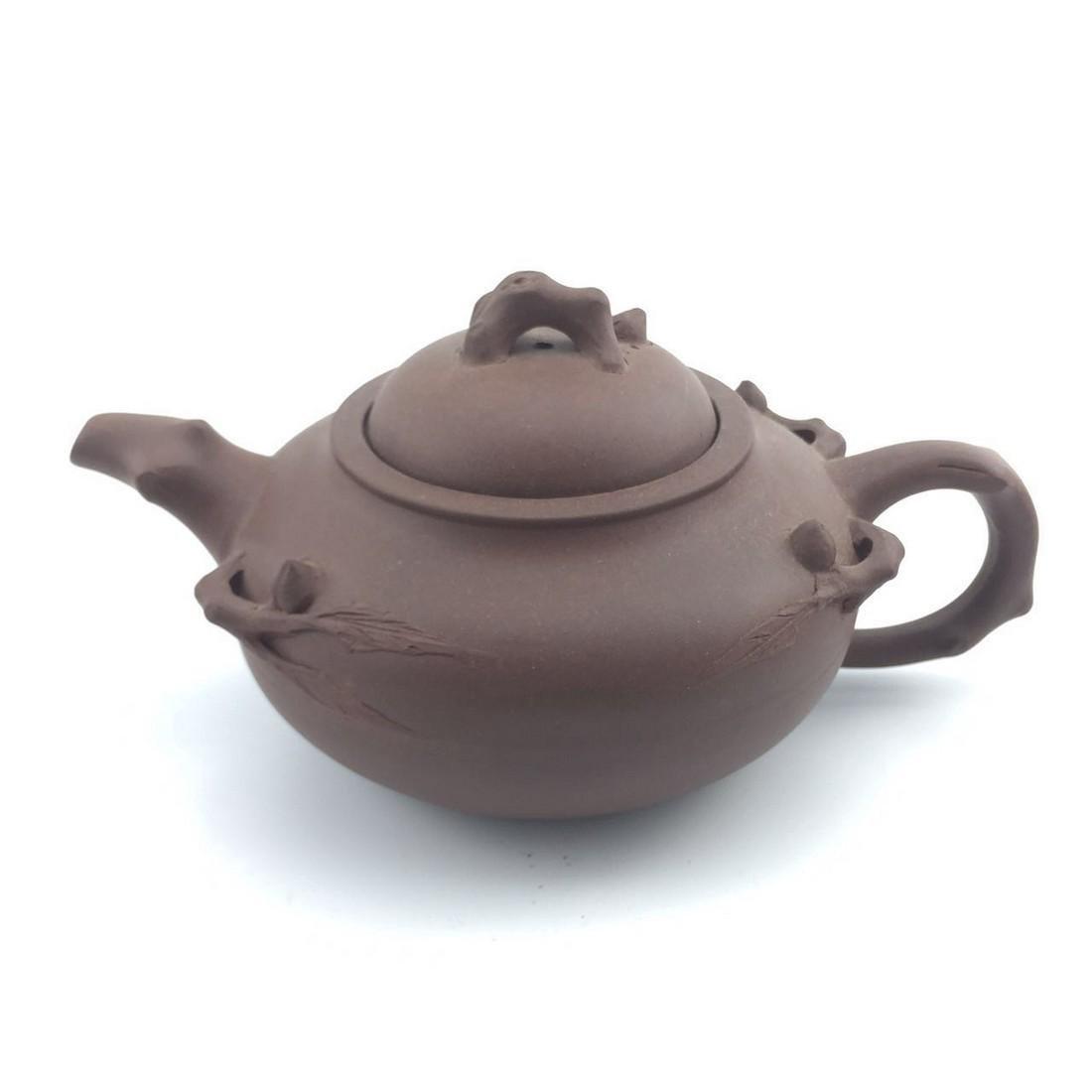 Antique Chinese ZI-SHA TeaPot