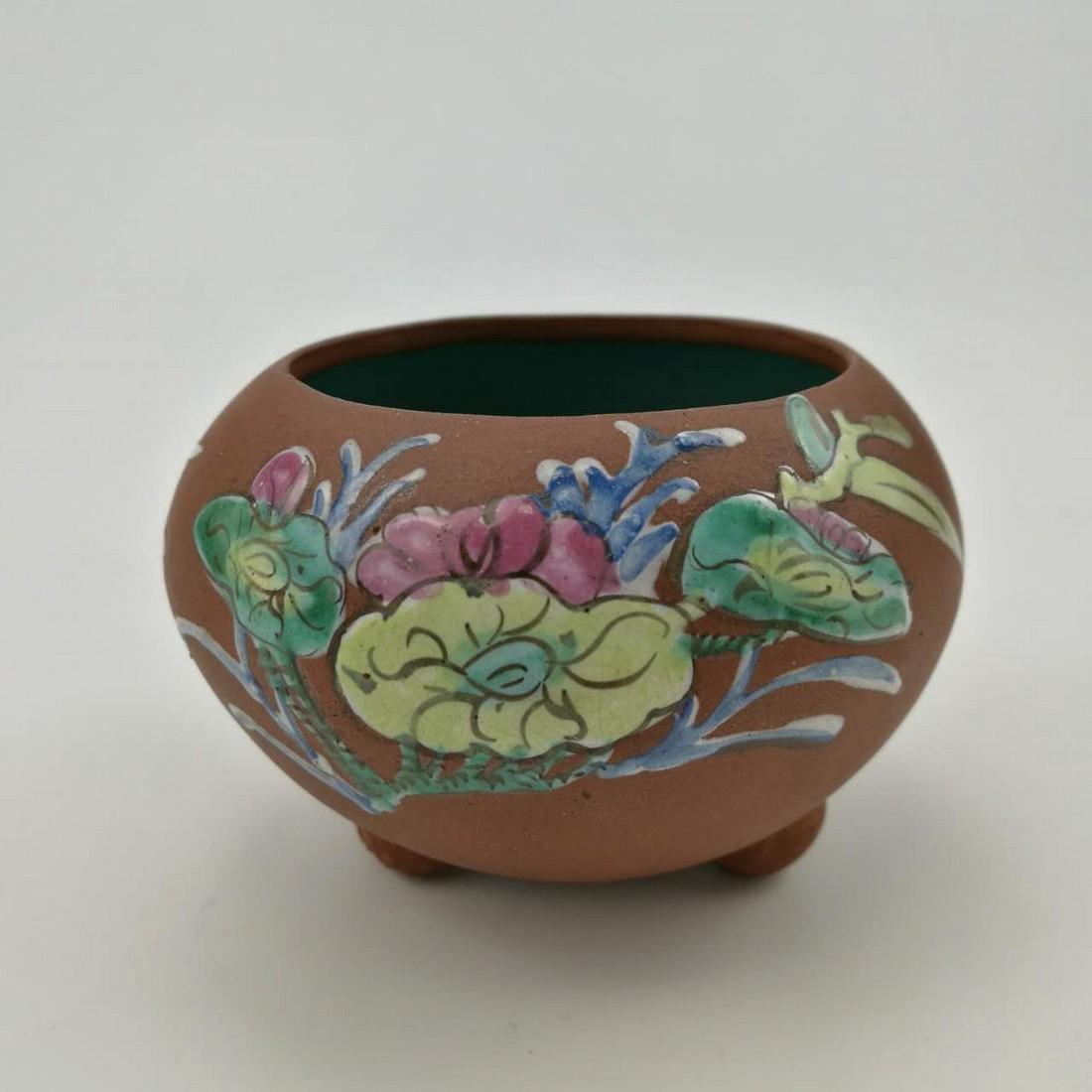 Antique Chinese ZI-SHA Water Pot