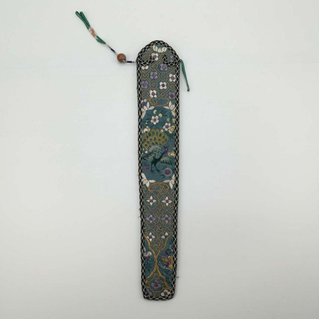 19th Century Chinese Fan Package