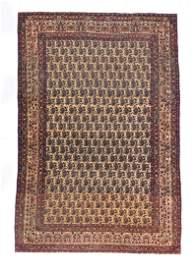 Extremely Fine Antique Persian Lavar Kerman Rug, Circa