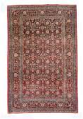Fine Antique Persian Kashan Dabir, Circa 1910