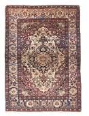 Fine Antique Persian Tehran Rug, Circa 1890