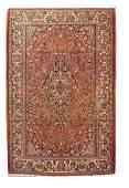 Semi Antique Persian Kashan Rug, Circa 1930's