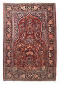 Fine Semi Antique Persian Kashan Rug, Circa 1930's