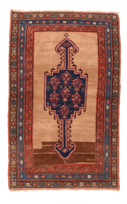 """Antique Persian Bakshayesh Rug,Size: 3'5"""" x 5'10"""""""