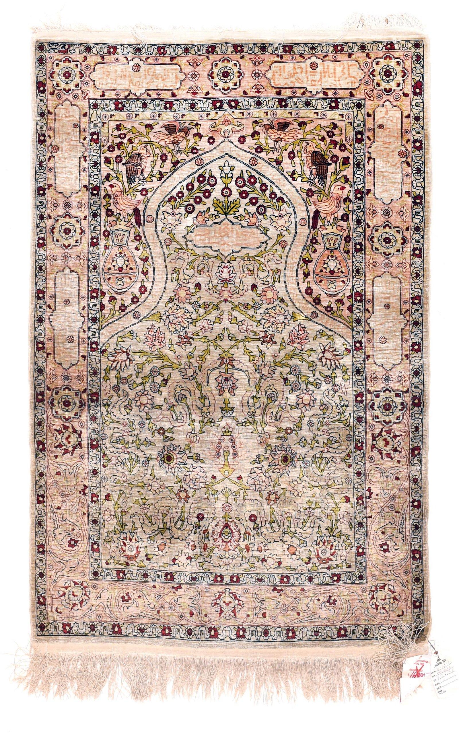 "Extremly Fine Antique Turkish Herekeh,Size2'7"" x 4'0"