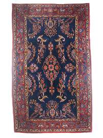 Extremely Persian Antique Manchester Kashan Rug