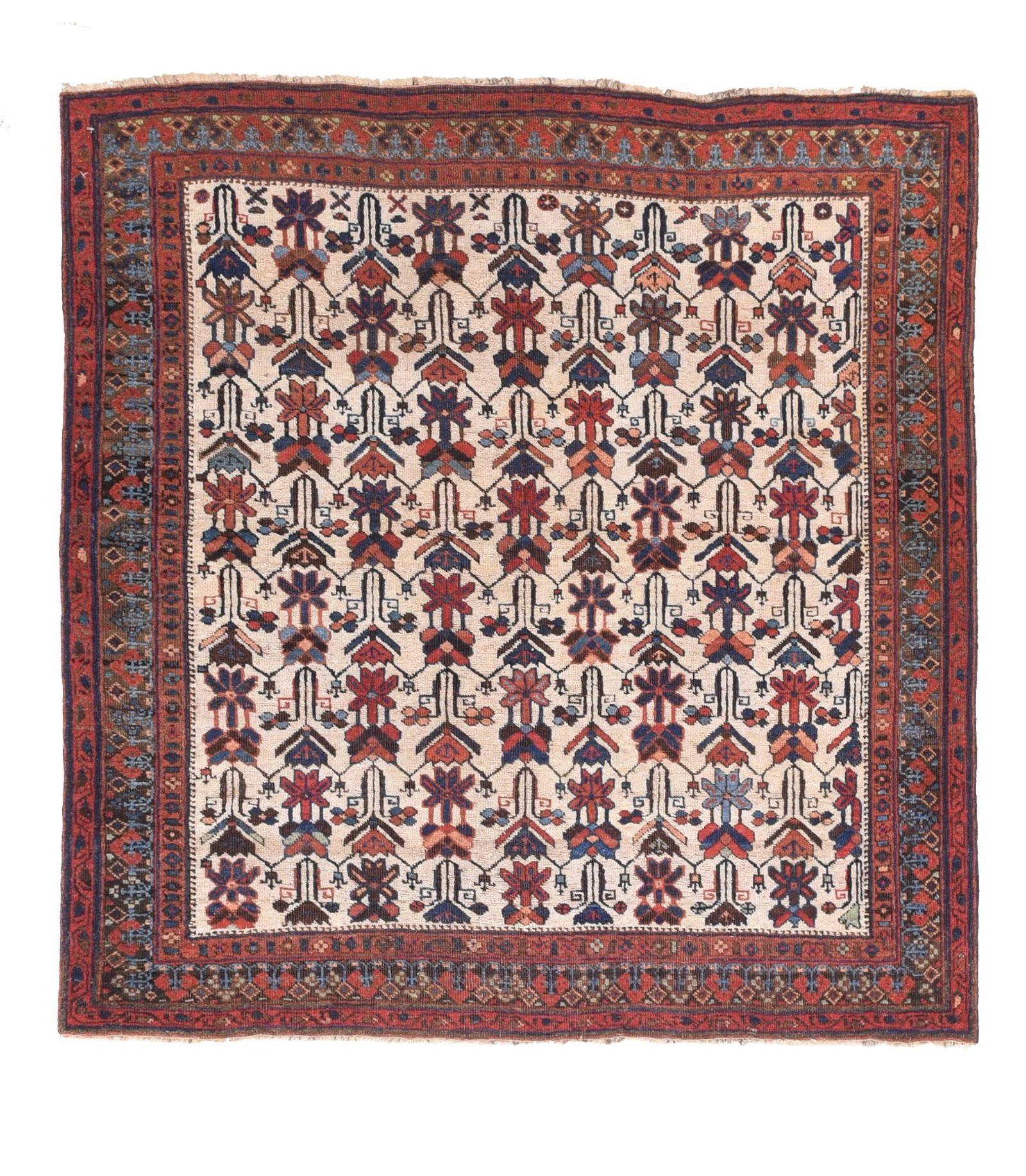 Antique Afshar Persian Area Rug