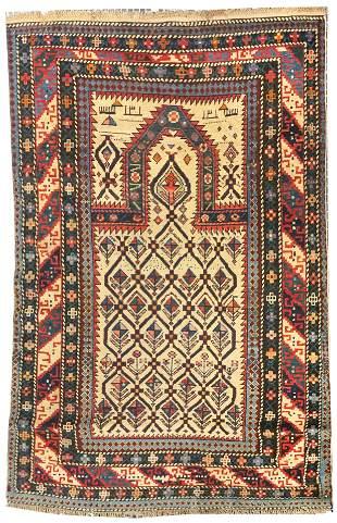 Antique Daghestan Shirvan Area Rug