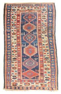 Antique Caucasian Shirvan Area Rug