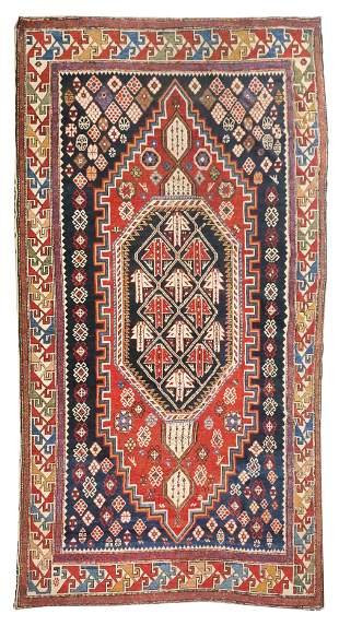 Antique Shirvan Caucasion Area Rug
