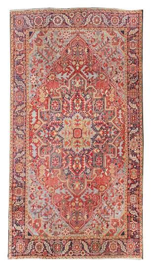 Antique Persian Heriz/Serapi Area Rug