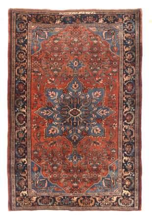 Antique Bijar Persian Area Rug