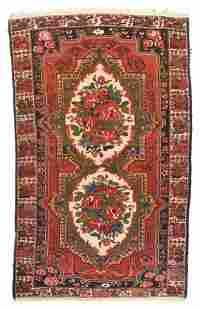 Antique Bakhtiari Persian Area Rug