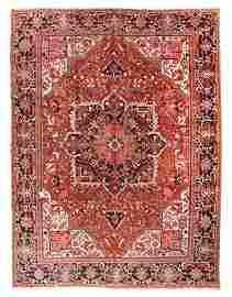 Fine Semi Antique Persian Heriz