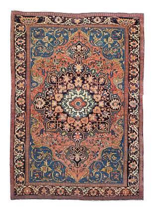 Fine Antique Persian Farahan Sarouk Rug